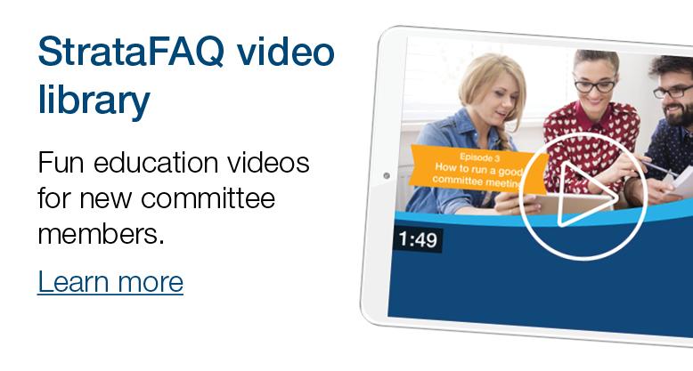 StrataFAQ education videos